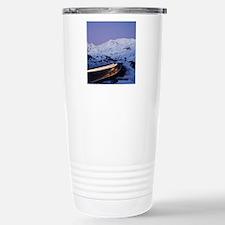 Car Lights and Mt Ruape Stainless Steel Travel Mug