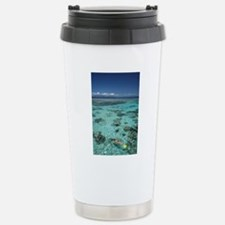 Snorkelers and Reef, Gr Stainless Steel Travel Mug