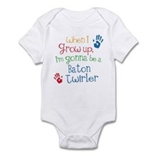 Baton Twirler Grow Up Infant Bodysuit