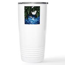 Moonlit Paradise tile b Travel Mug