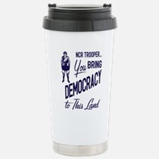 Democracy Light Stainless Steel Travel Mug