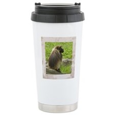 tile-baboon-1 Travel Mug