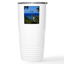 St Lucia 11x11 Travel Mug
