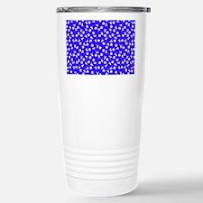 Blue Floral Dance Travel Mug