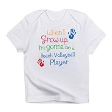 Beach Volleyball Player Grow Up Infant T-Shirt
