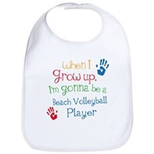 Beach Volleyball Player Grow Up Bib