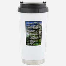 Tiffany Dogwood 78 Stainless Steel Travel Mug