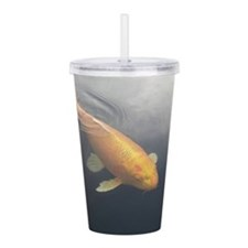 Papa Koi Fish Acrylic Double-Wall Tumbler