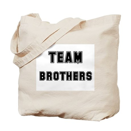 TEAM BROTHERS Tote Bag