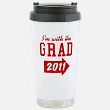 with-the-grad-2011_righ Stainless Steel Travel Mug