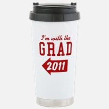 with-the-grad-2011_left Travel Mug