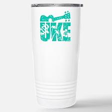 UKE Green Stainless Steel Travel Mug