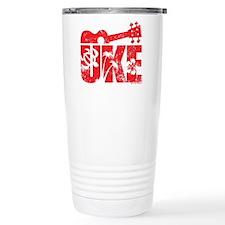 UKE Red Travel Mug