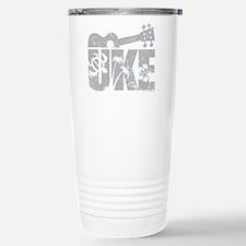 UKE Gray Travel Mug