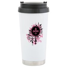 GardenGrungeHpkOwStr Travel Coffee Mug
