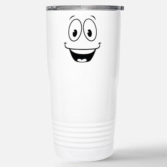 Yes Man Stainless Steel Travel Mug