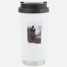 Angel Of Protection Stainless Steel Travel Mug