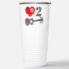 Love 2 Ukulele Travel Mug
