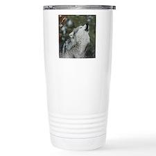 x10 Christmas Wolf Travel Mug