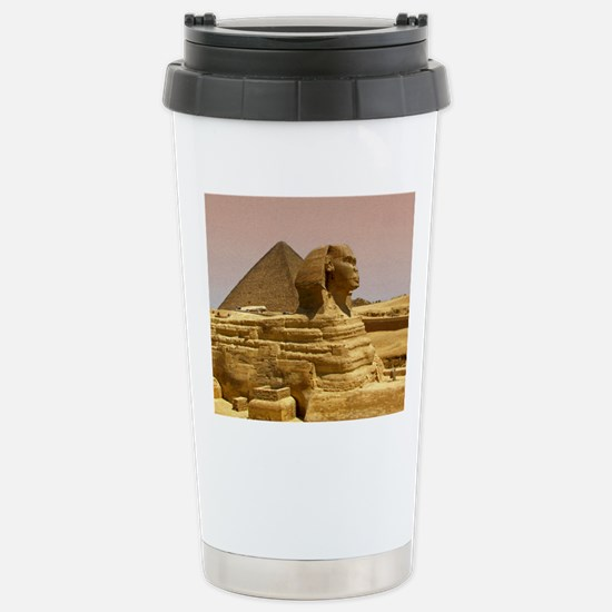 Sphinx Mousepad Stainless Steel Travel Mug
