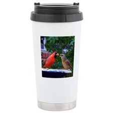 LoveBirdsPil Travel Mug