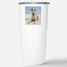 GD beach round orn Stainless Steel Travel Mug