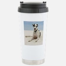 GD beach tile Stainless Steel Travel Mug