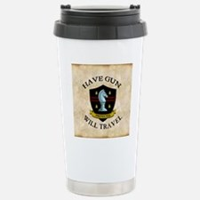 havegun_clock Travel Mug