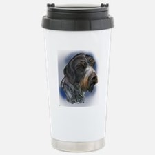 german_wirehaired_point Travel Mug