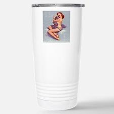 roxanne clock Travel Mug