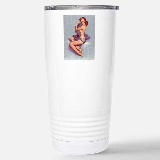 elvgren roxanne small p Stainless Steel Travel Mug