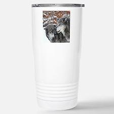 x10 shn wolf Travel Mug