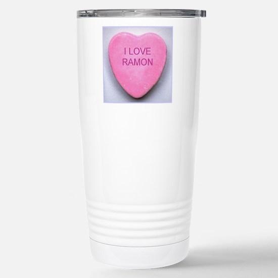 HEART RAMON Stainless Steel Travel Mug