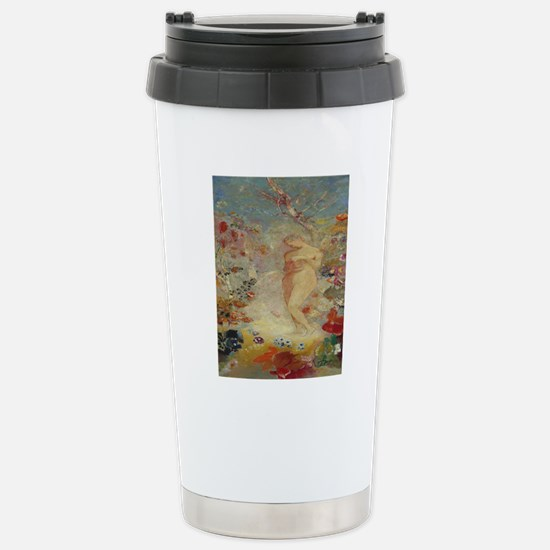 ODILON_Redon_Pandora_78 Stainless Steel Travel Mug