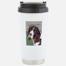 (12p) Spaniel Stainless Steel Travel Mug