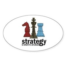 Strategy Oval Decal
