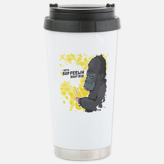 shirt-01 Stainless Steel Travel Mug