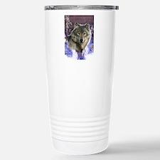 wolf 12x9 Stainless Steel Travel Mug