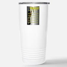 SENILITY POSTER Stainless Steel Travel Mug