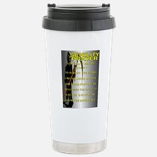 SENILITY POSTER Travel Mug
