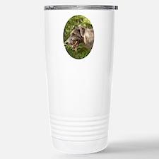 Wet Irish Wolfhound Travel Mug