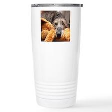 Jadzia and her stuffy Travel Mug