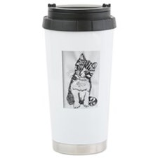 Cuddly Kitten by Kimber Travel Mug