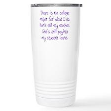 College Major Travel Mug