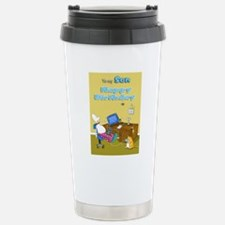 mouse trouble,happy bir Travel Mug