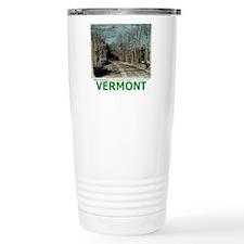 Roadcolor with text Travel Mug