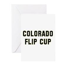 Colorado Flip Cup Greeting Cards (Pk of 10)