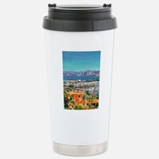 View of San Diego Bay b Stainless Steel Travel Mug