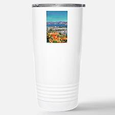 View of San Diego Bay b Travel Mug