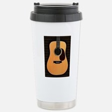 acoustic-guitar-framed  Stainless Steel Travel Mug